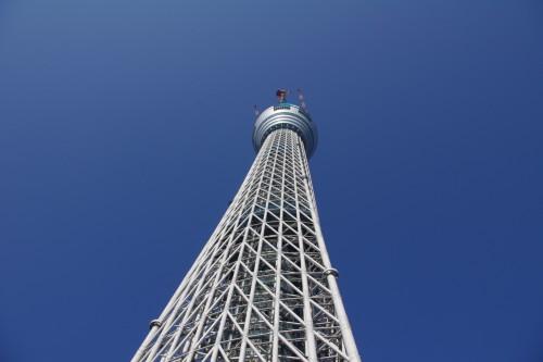 東京スカイツリーの建設現場に行ってきた