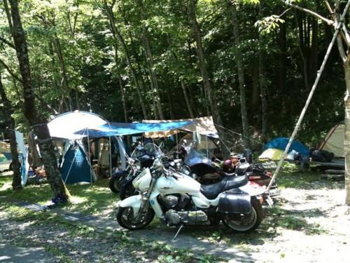 奥飛騨温泉へキャンプツー