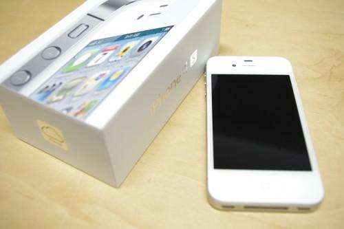 iPhone4sようやくゲット!