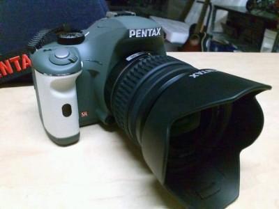 PENTAX k-x オリーブ×ホワイトが届いた!