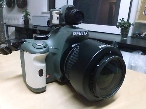 PENTAX K-Xミニチュアマスコットをゲット!