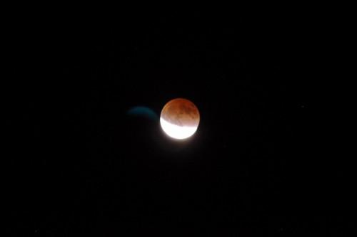 k-xで皆既月食を撮ってみた!